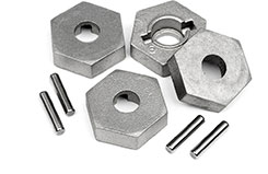 17mm Hex & Pin Set (4pc) - 101190