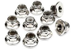 Flanged Lock Nut M3 (10pc) - 103671
