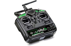 2 Channel Radio SR2S 2.4GHz w/Rx - 2000021