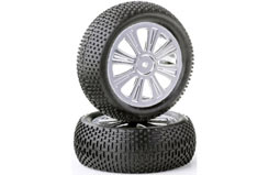 1/10th FWD 8 Spoke Wheels & Tyres - 211000212