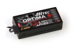 Optima 6 AFHSS Rx w/Batt Telemetry - 2226610