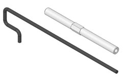 Funcopter Tail Rotor Shaft - 223012