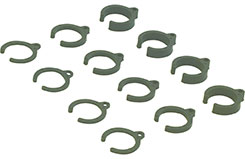 Damper Parts Set 1/2/4mm 1:10 - 2330001