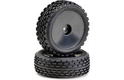 1/10th Buggy Wheels & Tyres (Pr) - 2500011
