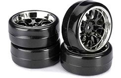 1/10th Drift Wheels/Tyres (W) - 2510041