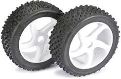 1/8th 5 Spoke Wheels & Tyres - 2520012