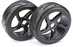 Wheel Set Buggy inchStreetinch Blk 1:8 (2 - 2530001