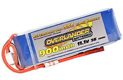 Li-Po Battery 860mAh 3S 11.1v 30C - 2559