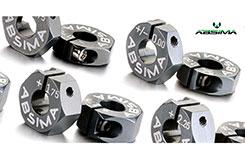 Alu Wheel Hubs Offset +3.00mm 1:10 - 2560015