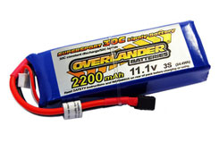 Li-Po Batt 2200mAh 11.1v 35C Supers - 2567