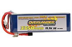 3350mAh 3S 11.1v 35C Li-Po Battery - 2570