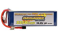 3350mAh 4S 14.8v 35C Li-Po Battery - 2571