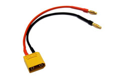 XT90 to 4mm Charge Lead - 2645