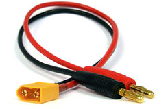 XT60 to 4mm Charge Lead - 2803