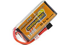 1300mAh 3S 11.1v 25C Li-Po Battery - 2963