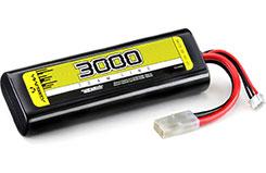 Li-Po 7.4v 30C 3000mAh Hardcase Tam - 4140002