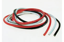 12SWG Silicone Wire (Wh/Bl/Red) 1M - 4409300