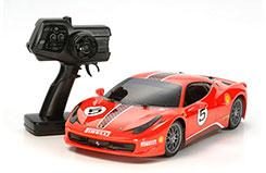Tamiya 1/10 XB Ferrari 458 (TT-01) - 46623