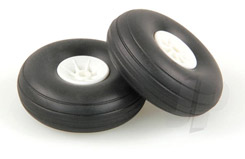 2.0inch - (50mm) White Wheels (2) - 5507111