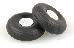 2 1/4inch - (56mm) White Wheels (2) - 5507112