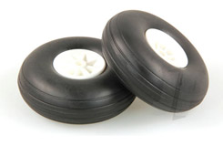 2 1/2inch - (63mm) White Wheels (2) - 5507113