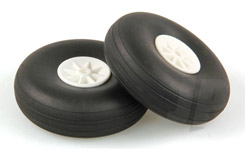 2 3/4inch - (69mm) White Wheels (2) - 5507114