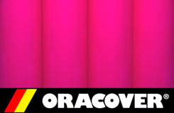 2Mtr Oracover Fluor Pink - 5524025