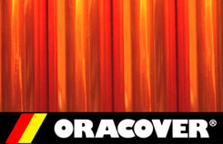 2Mtr Oracover Trans Orange (6 - 5524069