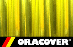 2Mtr Oracover Chrome Yellow(9 - 5524094