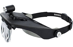 Headband Magnifier + 4 Lenses (LC17 - 5533140