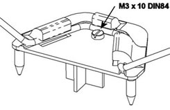 MPX Undercarriage Support - 723135