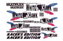 Decal Sheet White Hawk MPX - 724095