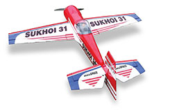 Sukhoi 31 180 Size Blk Horse - a-bh020