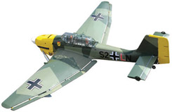 Black Horse Ju87B Stuka-New Version - a-bh080a