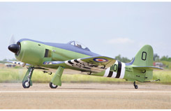 Black Horse Sea Fury 20cc ARTF - a-bh113