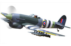 Black Horse Hawker Typhoon 1B 33cc - a-bh132