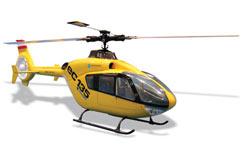 Hirobo EC-135 Eurocopter - a-h0404-991