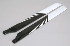 Ripmax Carbon Main Blades 430mm - a-rmxcb430