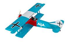 SFM Fokker DVII EP ARTF Teal - a-sfmep46c