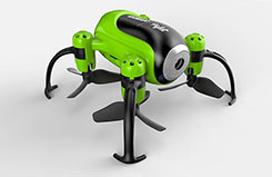 Udi Piglet WiFi Mini Drone Green - a-u36w-g