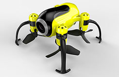 Udi Piglet WiFi Mini Drone Yellow - a-u36w-y