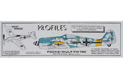 West Wings Focke Wulf 190 - a-ww416