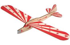 ZT Model J3 Piper Balsa Glider - a-zt05901