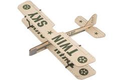 ZT Model Twin Sky Balsa Glider - a-zt06001