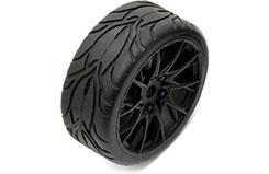 Assoc Apex Lexus RC F Wheel/Tyre Mn - as31453