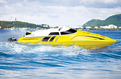 Udi Bullet 2.4Ghz High Speed Boat - b-udi003