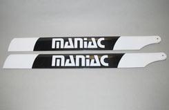 Maniac 427mm 3D CFK Blades - bbman427