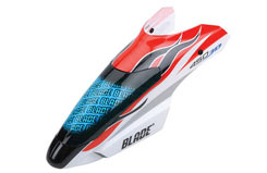 Blade 450 Canopy Red w/Blue Screen - blh1681a