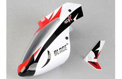 3218 Red-White Canopy w/Fin MSR X - blh3218