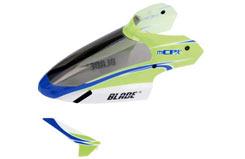 Blade mCP X Green Canopy w/Vert Fin - blh3519